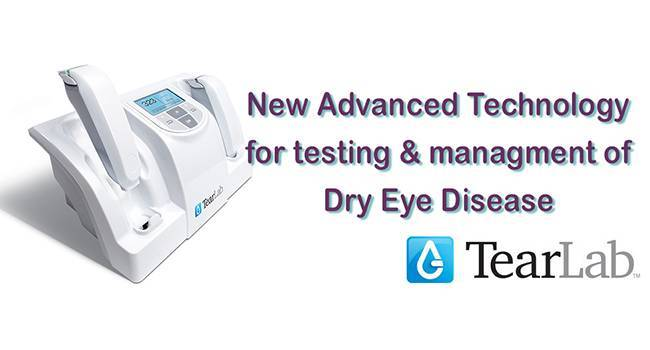 TearLab dry eye treatment now available at Eyecare Greengate